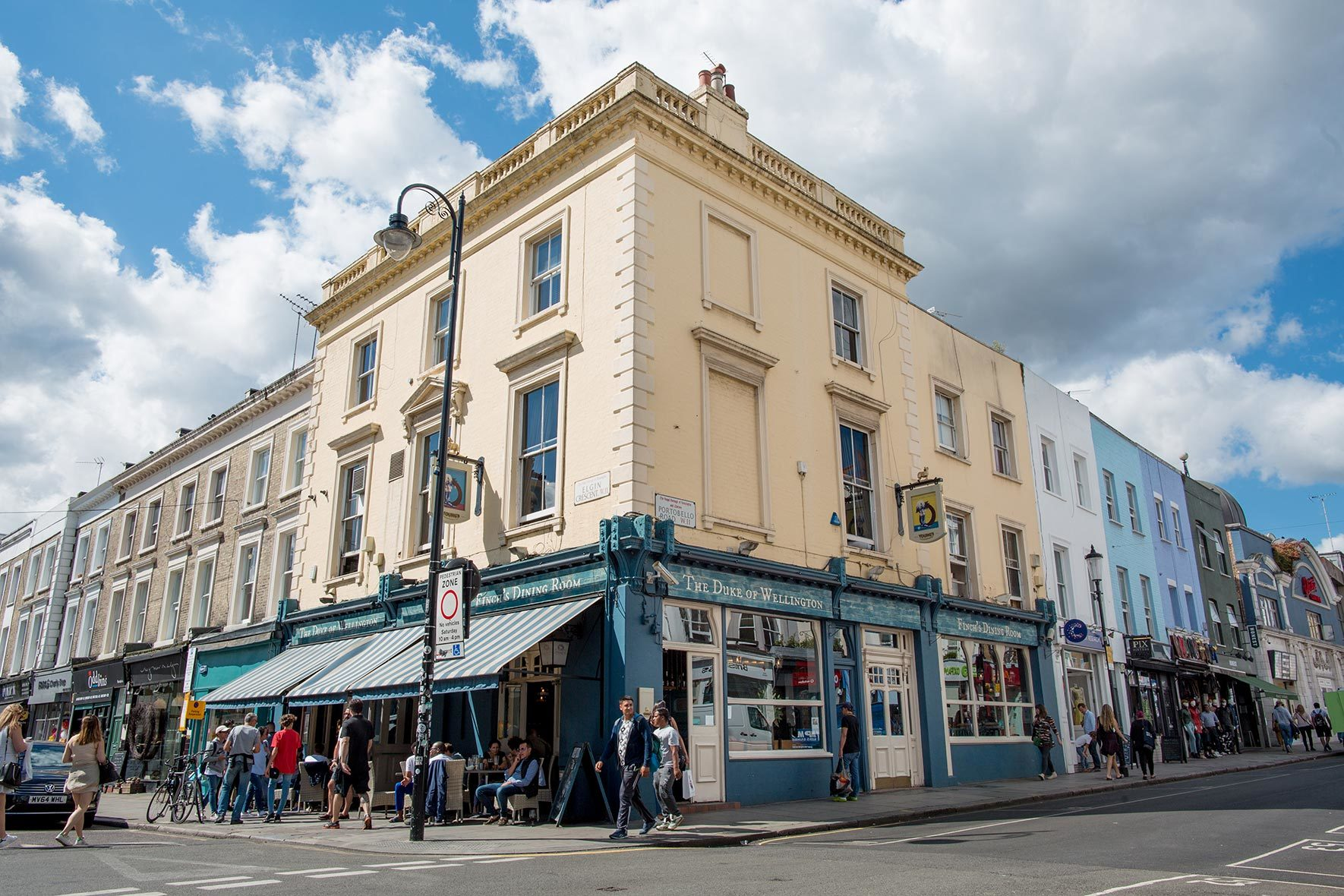 Duke Of Wellington Young S Pub With Seasonal British Food Notting